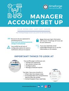 screenshot of manager account setup infographic