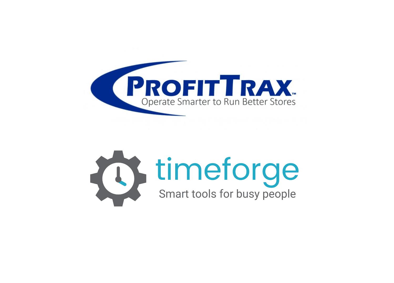 profittrax and timeforge logos
